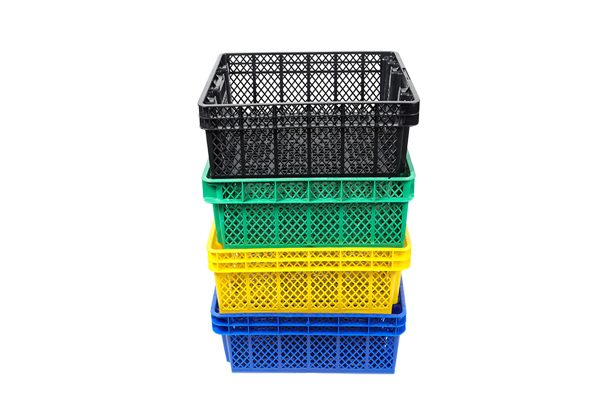 We stock a range of oyster baskets in a variety of colours. They are stackable and are ideal for storage and / or shellfish purification.