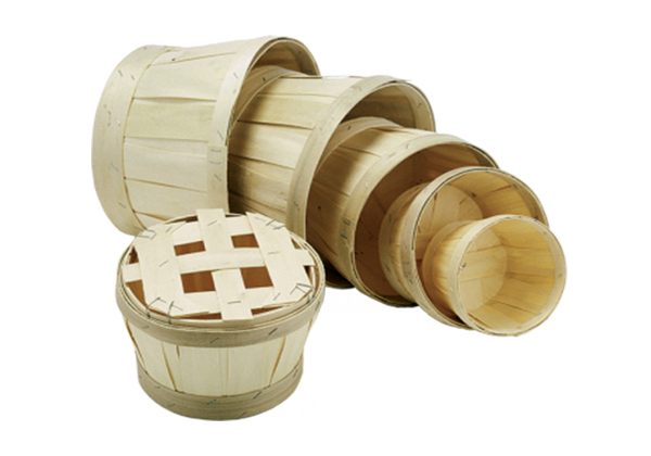 6 seafood presentation archives triskellseafood for Circular wooden box