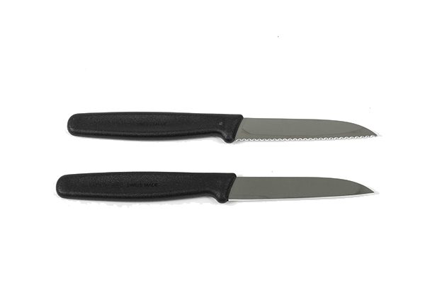 The Victorinox Paring Knife is the only man when you need a sharp and precise blade in the kitchen or on site. Careful! These blades are sharp!