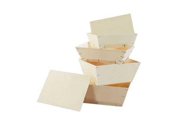 Rectangular Wooden Boxes for display