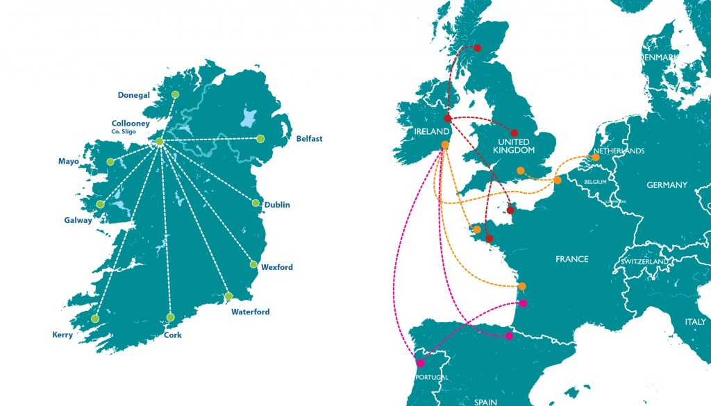 Réseau Commercial Trade Routes