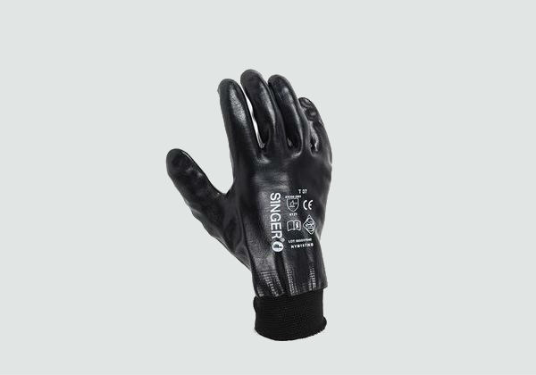 Goldex Black Gloves