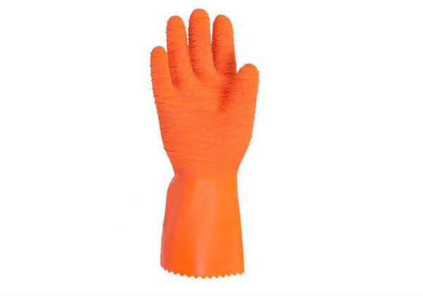 Harpon Orange Gloves