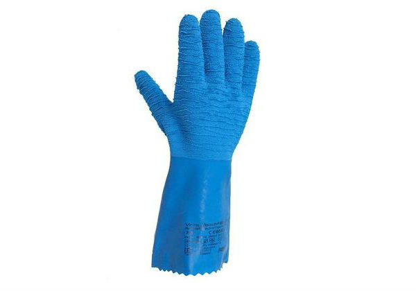 Ansell Blue Gloves