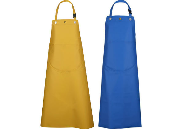 The Guy Cotten apron offers front and sides protection and thanks to the ISOLATECH insulation will not form condensation inside the front of the apron.