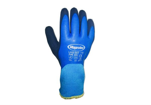 Maprotec Lined 567 Blue Gloves