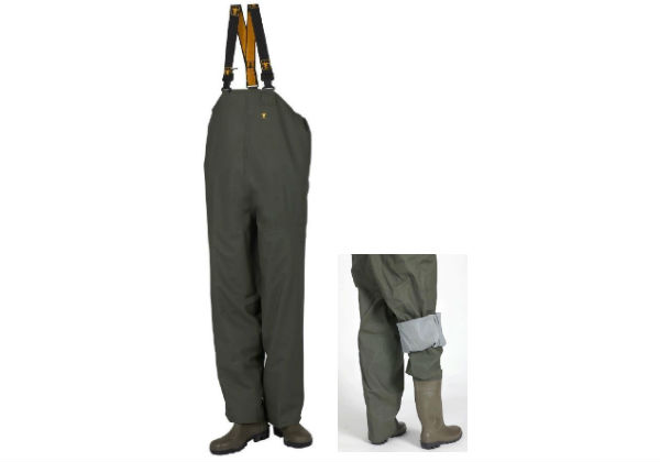 The Ostrea Chest Waders from Guy Cotten are extremely comfortable and durable, and are much lighter in wight than the standard nylpeche waders.