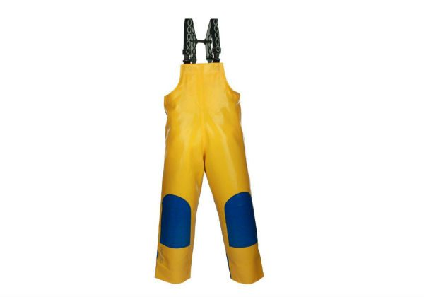 These bibpants from PROS EXTREME are recommended for people who work on high seas, but also for anyone working on land in extreme weather conditions.