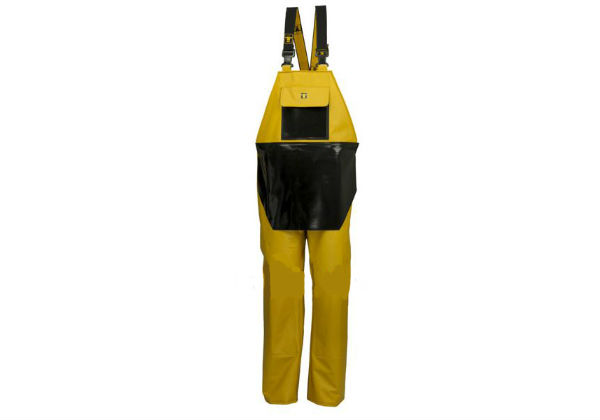 These nylpeche bib & brace trousers from Guy Cotten feature a double-thickness reinforced front and are ideal for intensive use.