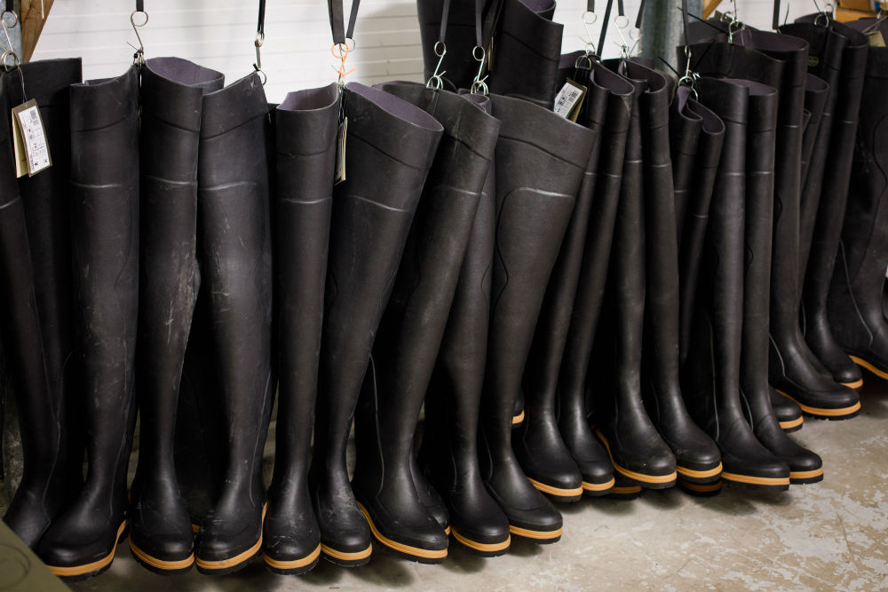 Hip Waders from well-known french brand Le Chameau