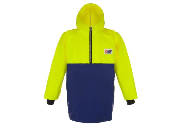 The Crew Smock 807 is part of the heavy duty Crew range from Stormline. Designed for all weather conditions, it features double-layer 650g PVC.
