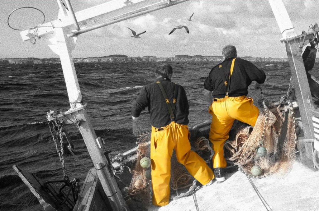 Guy Cotten are known for their distinctive yellow oilskin clothing. For over 50 years they have clothed fishermen, sailors and all lovers of the sea.