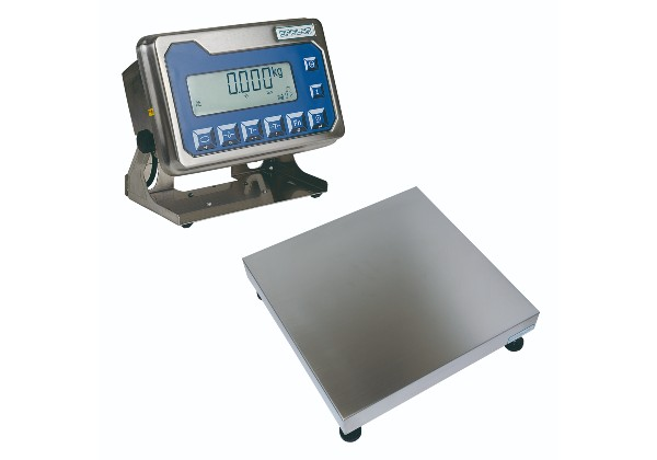 Polished stainless steel industrial scales from Epelsa is ideal for general weighing in the food, machinery, metallurgical, chemical industries and on farms.