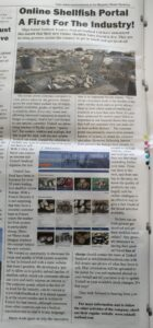 Article in Marine Times Newspaper about Triskell's new Customer Portal